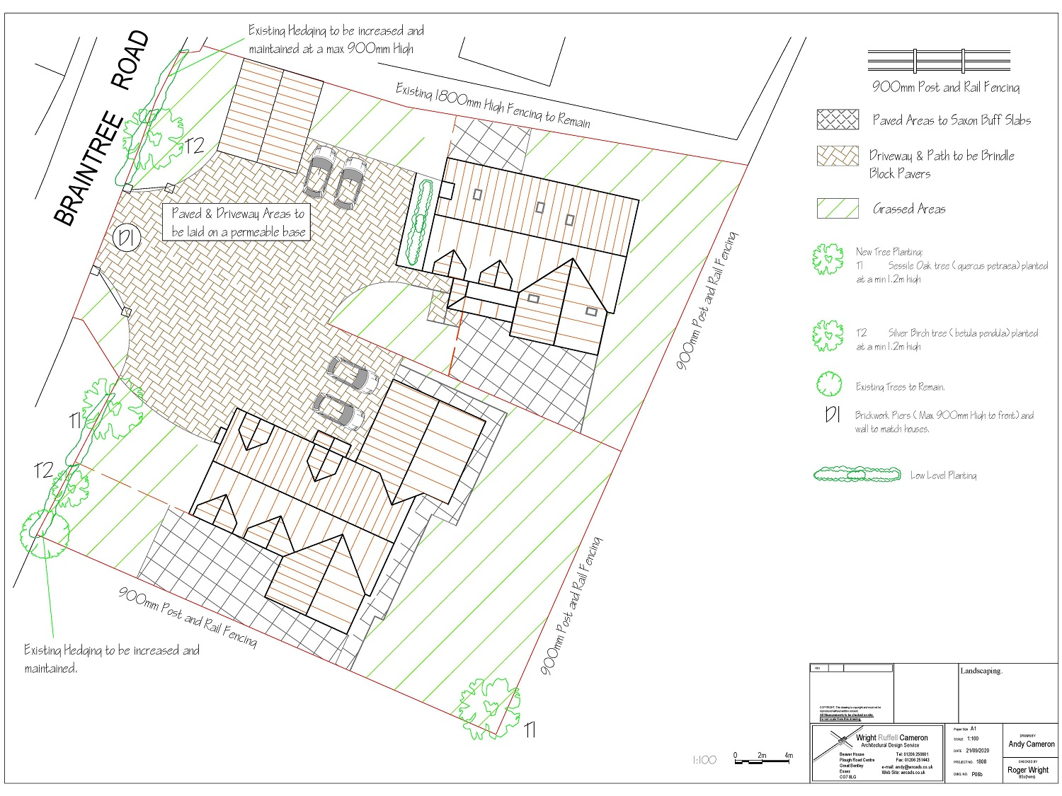Residential Development Site Plan - Braintree