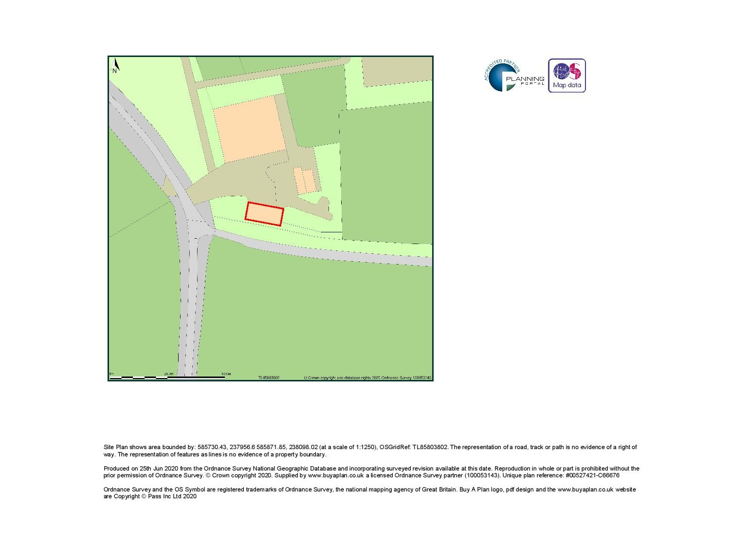 Site Location Plan - Sudbury
